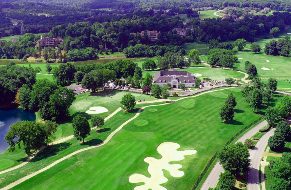 Image of The Governors Club neighborhood and golf course in Brentwood, Tennessee