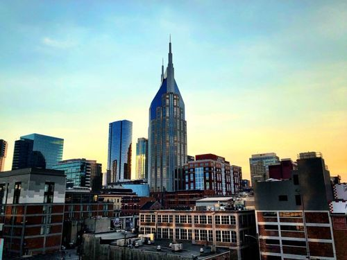 Image of the AT&T building in Downtown Nashville Tennessee