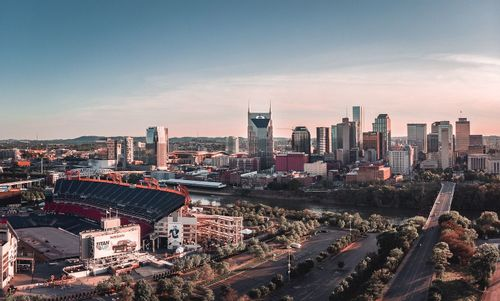 Image of downtown Nashville's skyline