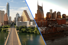 Real Estate Guide–Moving To Nashville vs Austin Photo